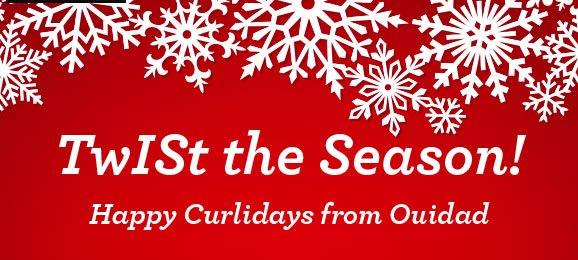 TwISt the Season! Happy Curlidays from Ouidad