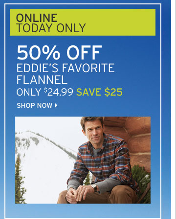 Eddie's Favorite® Flannel Shirt