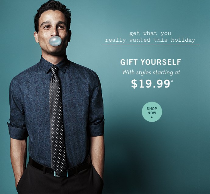 Wishing You a Very Merry Holiday! Styles starting at $19.99 + Free Shipping