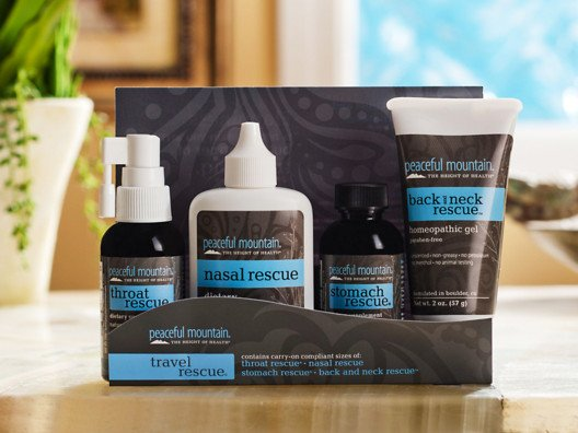 All-Natural: Travel Rescue® by Peaceful Mountain from Alicia Silverstone