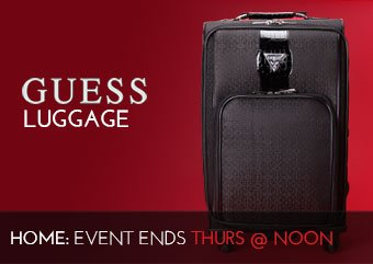 GUESS LUGGAGE