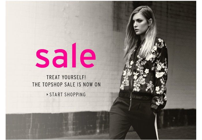 Sale, treat yourself! The Topshop sale is now on - Start shopping