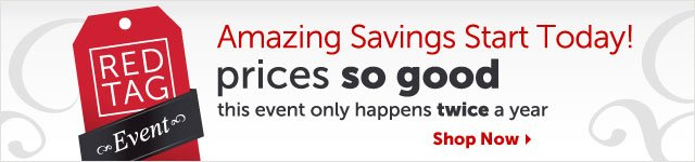 Amazing Savings Start Today! prices so good this event only happens twice a year - Shop Now