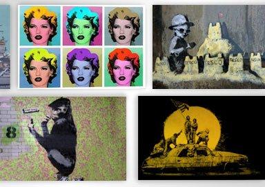 Shop British Street Art for Home: Banksy