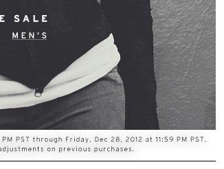 Shop the Sale - Men's