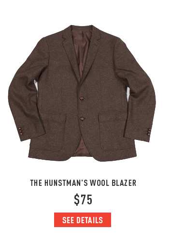 The Huntsman's Wool Blazer