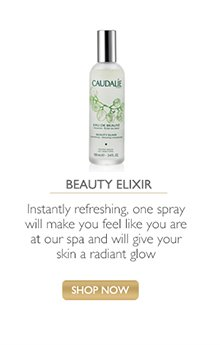 Beauty Elixir: Instantly refreshing, one spray will make you feel like you are at a spa, and will give your skin a radiant glow -- Shop Now