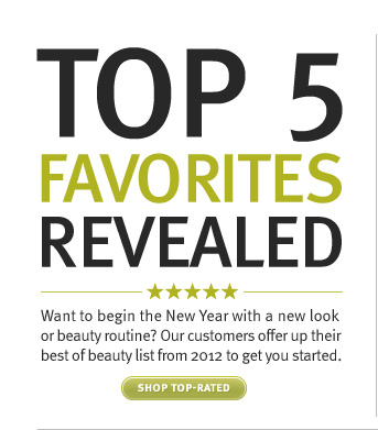 top 5 favorites revealed. shop  top-rated.