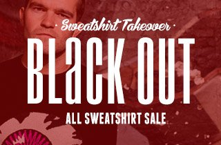 Sweatshirt Takeover: Black Out