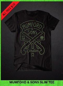 MUMFORD & SONS SLIM TEE
