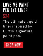 Love Me Paint Pen Eye Liner