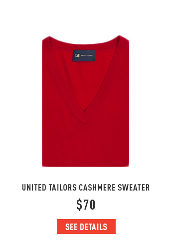 United Tailors Cashmere Sweater