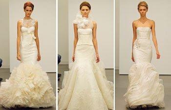 Vera Wang Fall 2013 Wedding Dresses