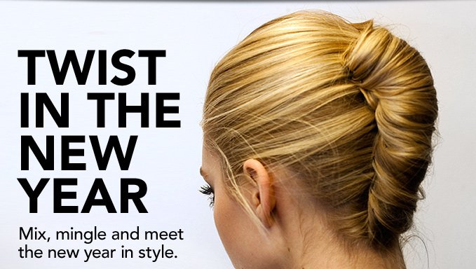 TWIST IN THE NEW YEAR Mix, mingle and meet the new year in style.