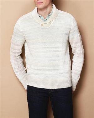 John Varvatos Collared Sweater