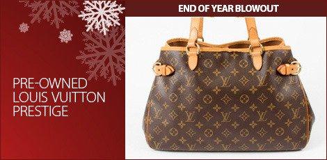 Pre-Owned Louis Vuitton Prestige