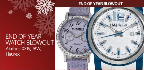 End Of Year Watch Blowout