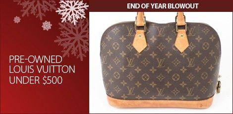 Louis Vuitton Under 500
