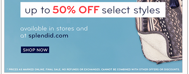 Winter Sale! Now up to 50% off