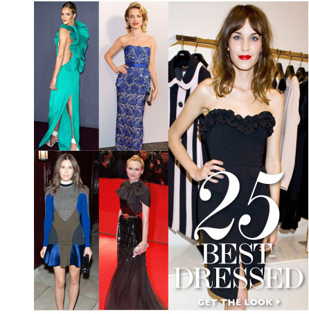 25 BESSED DRESSED. READ & SHOP