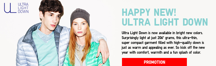Happy New! Ultra Light Down