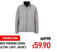 MEN PREMIUM DOWN ULTRA LIGHT JACKET
