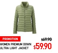 WOMEN PREMIUM DOWN ULTRA LIGHT JACKET