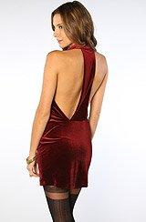 The Medina Mini Dress in Ruby