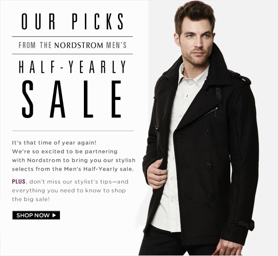 Our Picks From The Nordstrom Men's Half-Yearly Sale