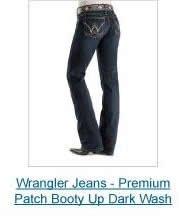 Wrangler Premium Booty Up