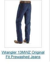 Wrangler 13MWZ Prewashed