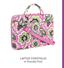 Laptop Portfolio in Priscilla Pink