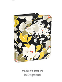 Tablet Folio in Dogwood