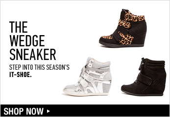 Wedge Sneakers - Shop Now