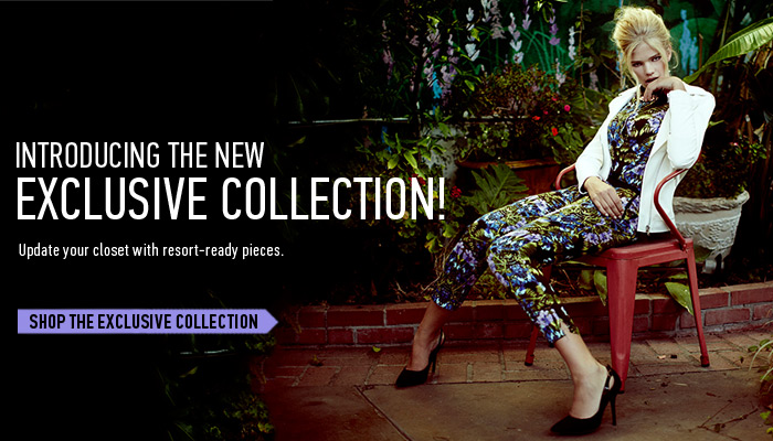 Exclusive Resort-Ready Pieces - Shop Now