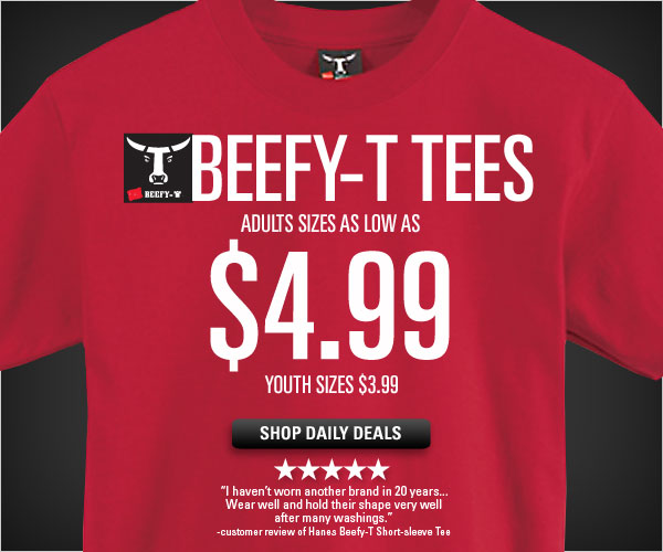 Beefy-T Tees Deals