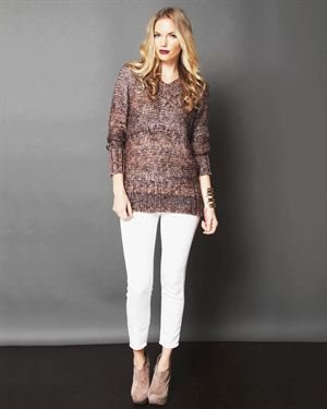 Lumiere Long Sleeve Knit Sweater