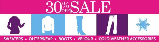 30% off Sale
