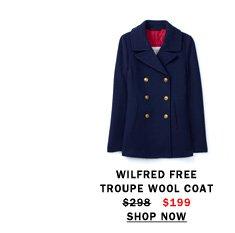 Troupe Wool Coat