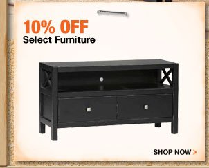 10% OFF Select Furniture