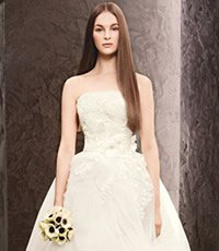 White by Vera Wang David's Bridal