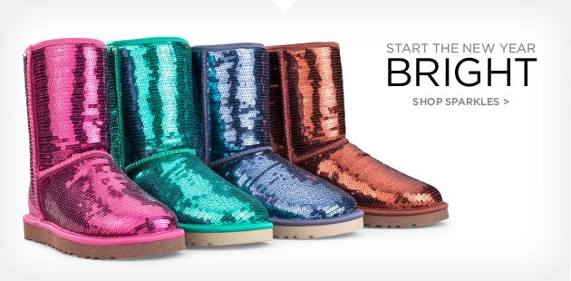 Start the new year bright shop sparkles