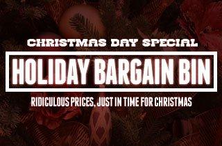 Holiday Bargain Bin