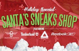 Santa's Sneaks Shop