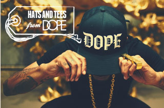 Hats and Tees From DOPE