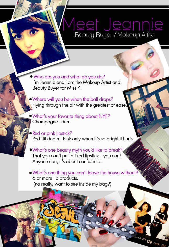Meet Jeanie! Miss KL Beauty Buyer and Makeup Artist!