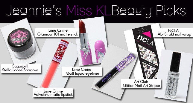 Jeanie's MissKL Beauty Picks!
