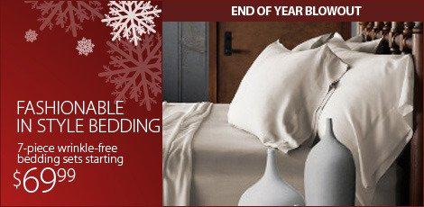 Fashionable and Stylish bedding