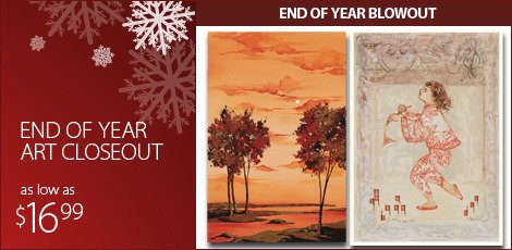 End Of Year Art Closeout