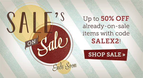 Sale On Sale Ends Soon